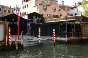 Venezia Squero Fondamenta dei Mendicanti