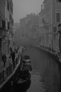 Venezia Canali BN