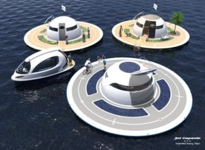 Jet Capsule U.F.O. Unidentified Floating Object