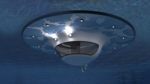 Jet Capsule U.F.O. Unidentified Floating Object