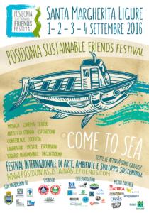 Locandina Posidonia Sustainable Friends Festival