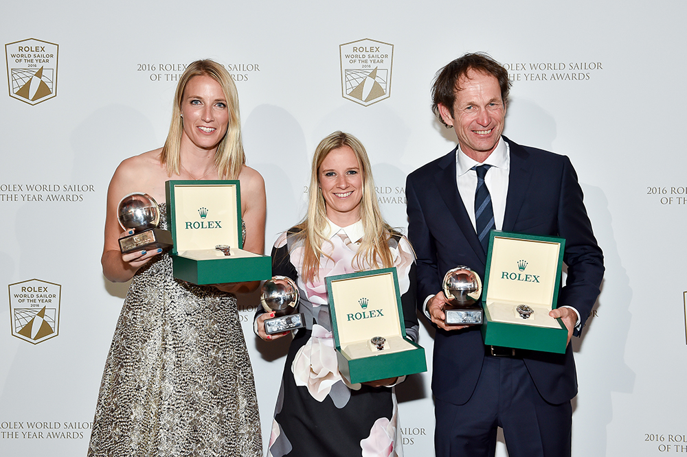 Rolex World Sailors of the Year 2016