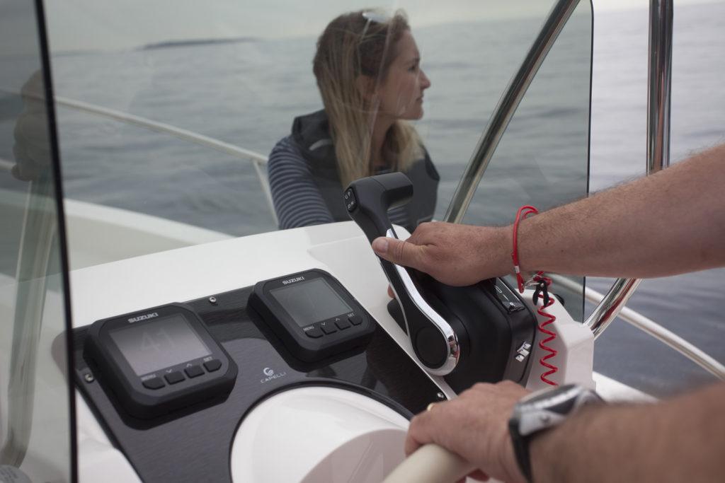 Chiesuole meccaniche Suzuki Paris Boat Show