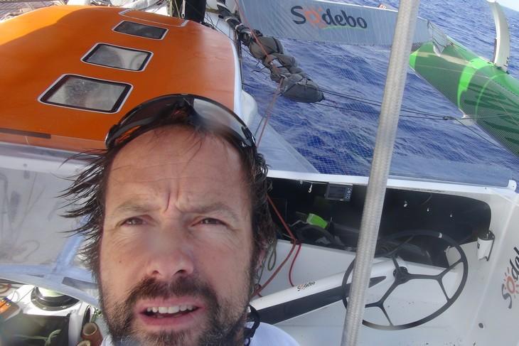 Thomas Coville record del mondo solitario Sodebo