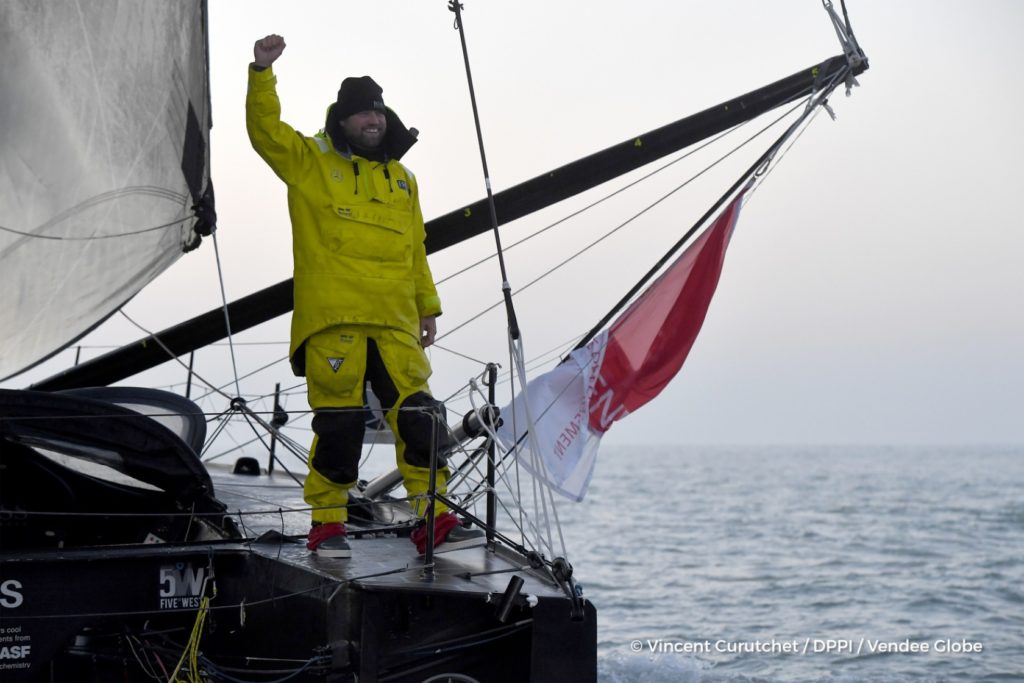 Vendée Globe Vela Arrivo Alex Thomson Hugo Boss