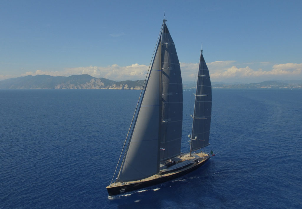 Perini Navi S/Y Sybaris Superyacht Design Awards