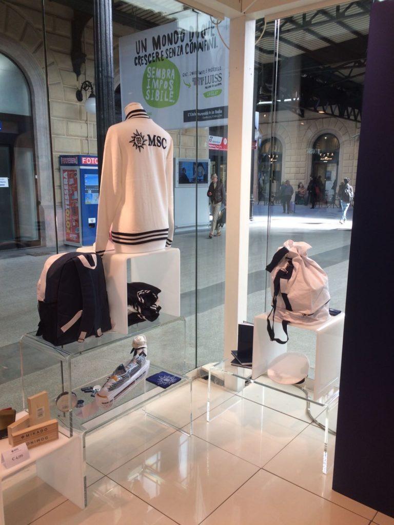 MSC Crociere Store stazione Bologna