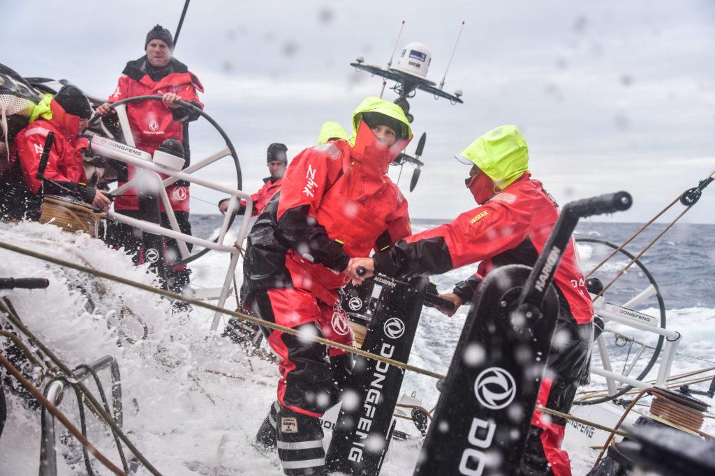 Marie Riou Dongfeng Race Team Volvo Ocean Race