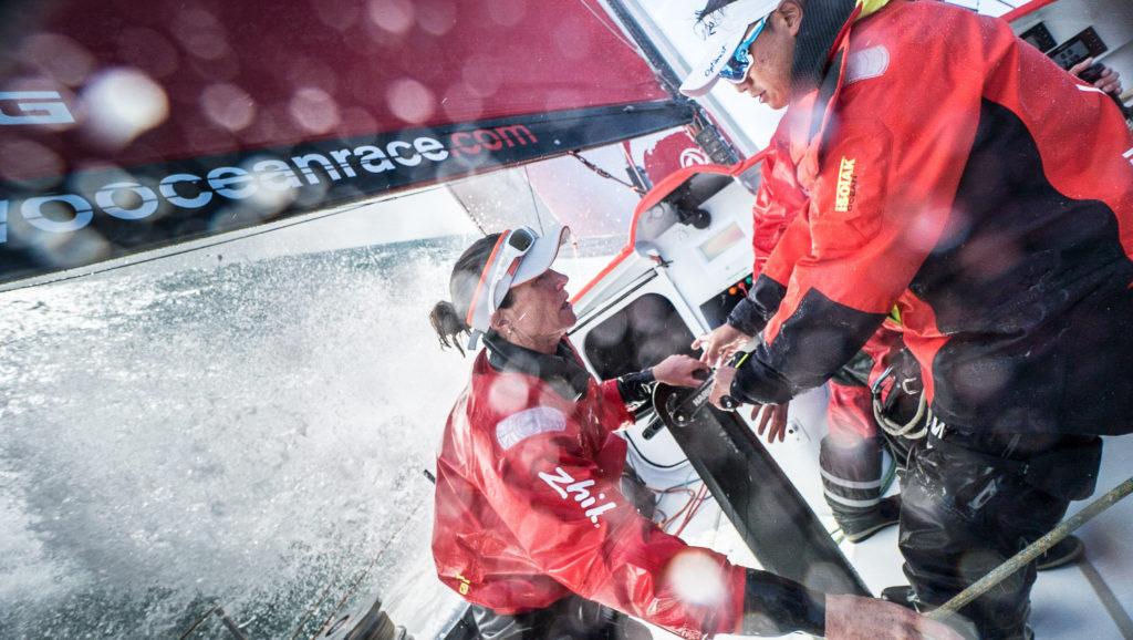 Carolijn Brouwer Dongfeng Race Team Volvo Ocean Race