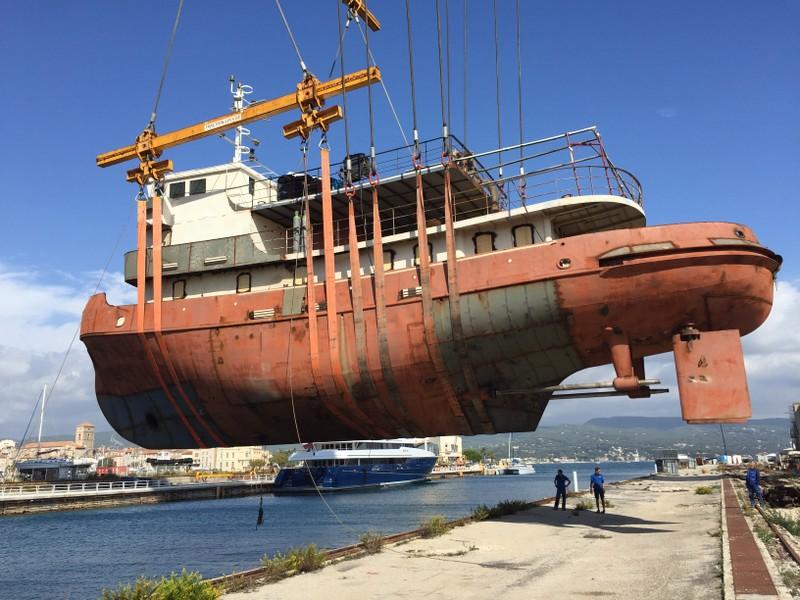 SIBMA Navale rimorchiatore Baltic