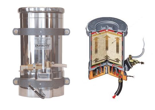 PuraDyn sistema filtrazione olio