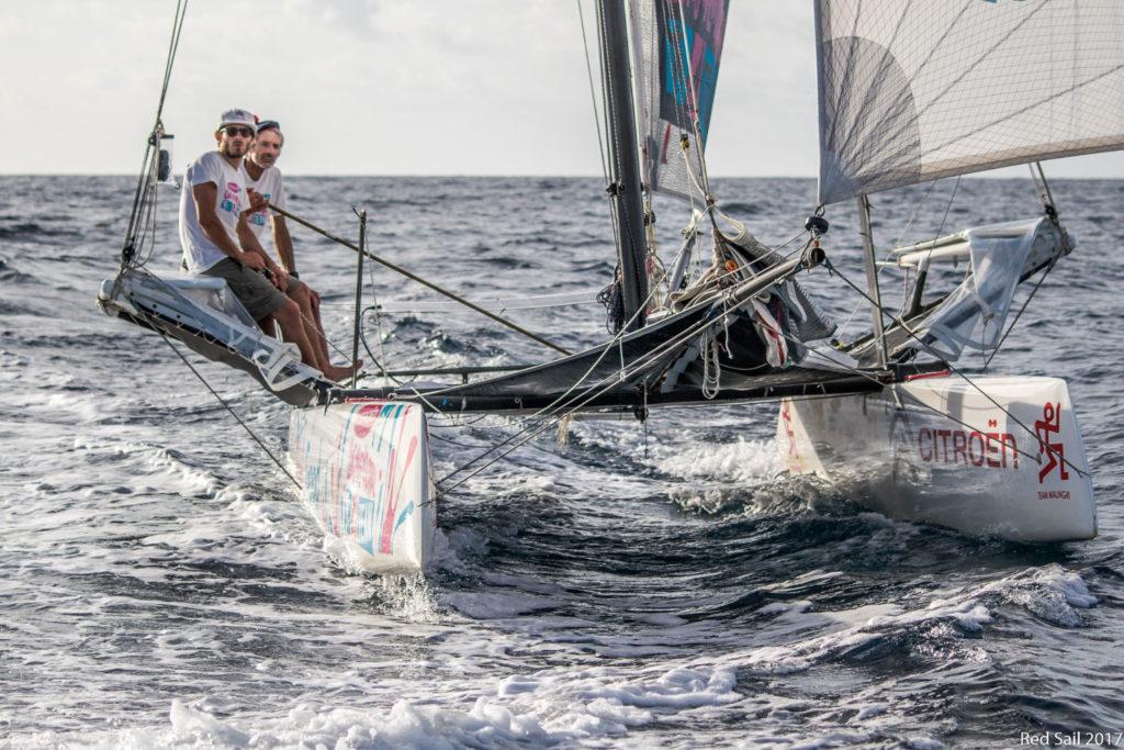 Vittorio Nico Malingri Record Dakar Guadalupe Catamarano