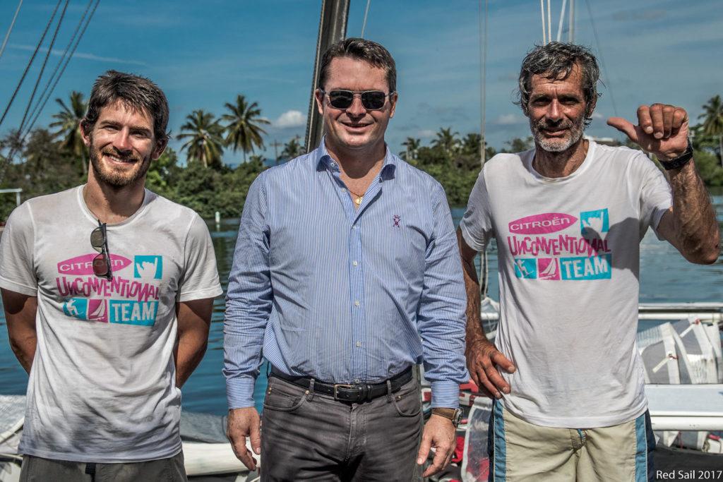 Malingri Citroen Unconventional Team Dakar Guadalupa