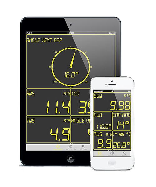 NKE Marine Electronics App Smartphone