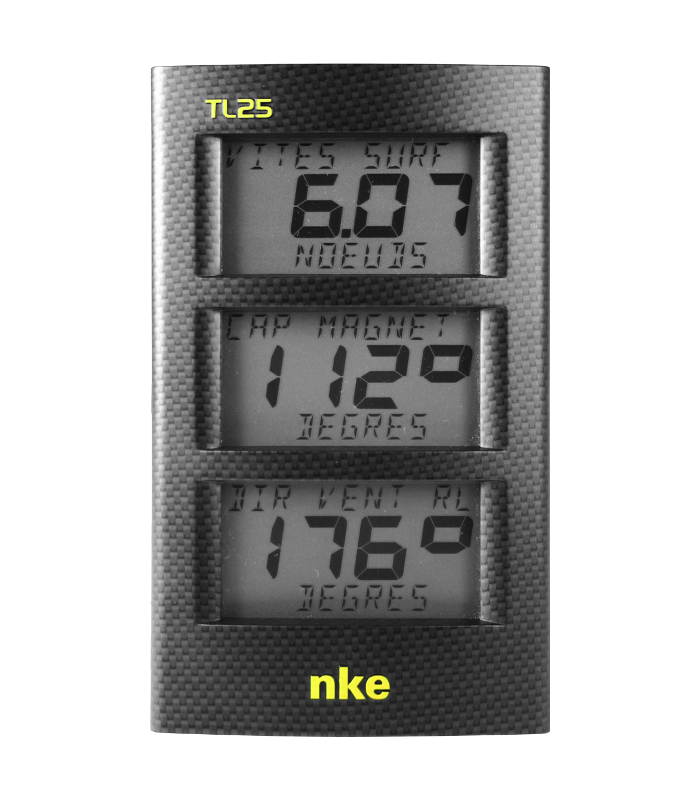 NKE Marine Electronics Display Triplo TL25