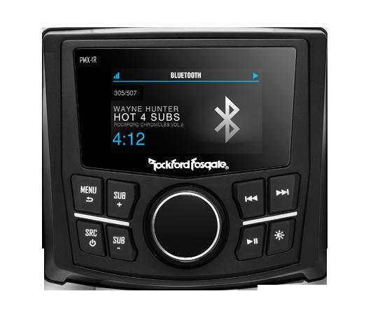 Rockford Fosgate PMX-1R remote control