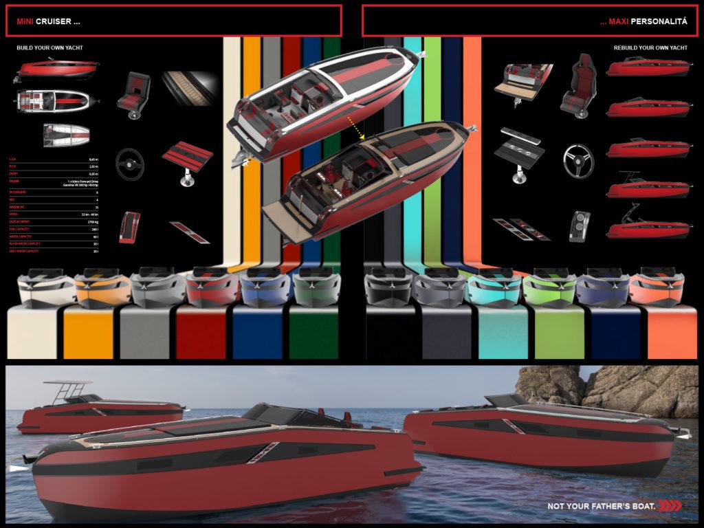 Seatec 2017 premio Myda progetto Mini Cruiser