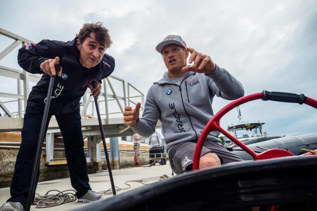 Alex Zanardi Oracle Team USA Catamarano