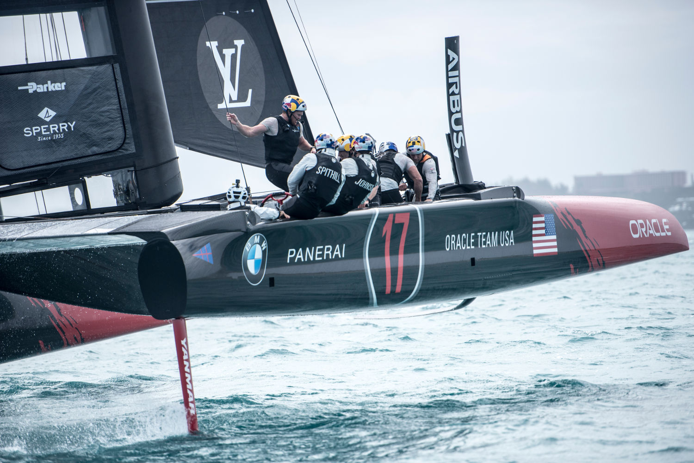 Zanardi Oracle America's Cup