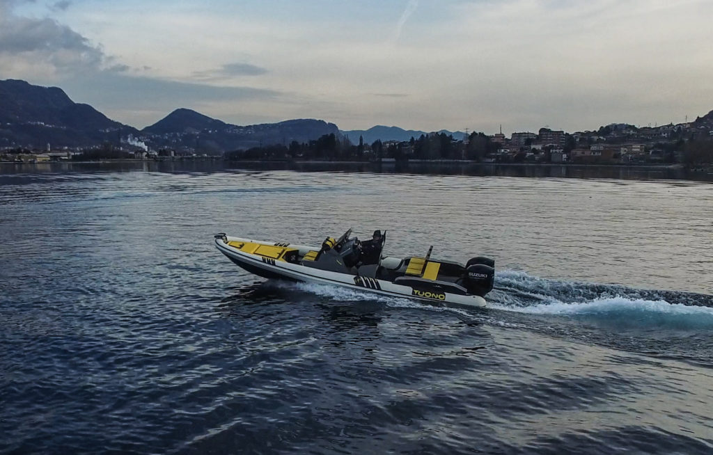 Avila Tuono Sukuki motore fuoribordo Round Italy