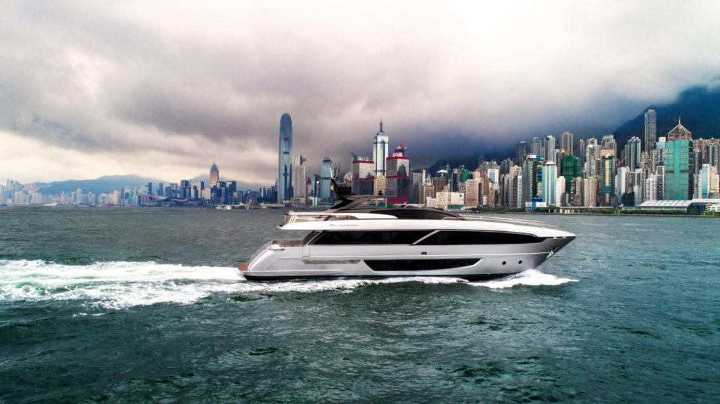 Rivorsaro Hong Kong Ferretti Superyacht flybridge
