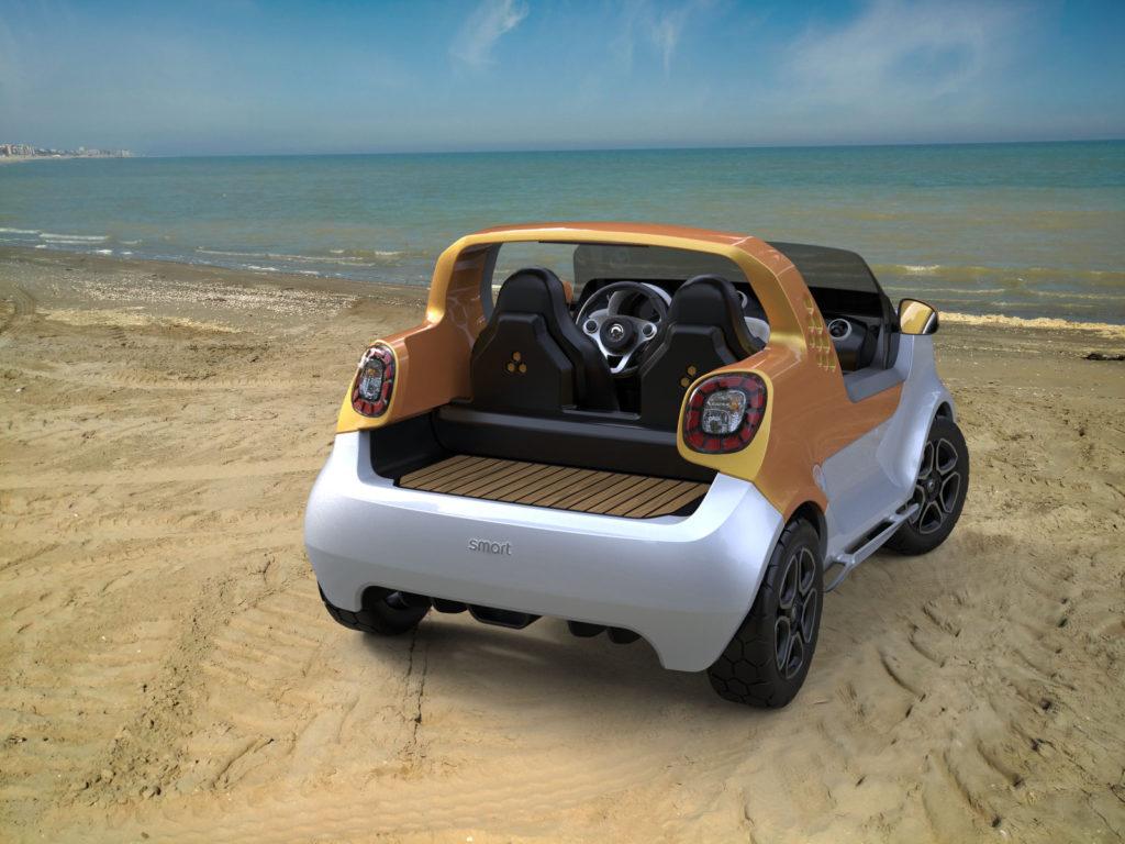 Smart forsea concept car auto anfibia
