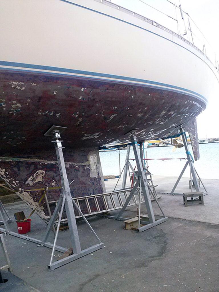 attrezzature per cantieri navali