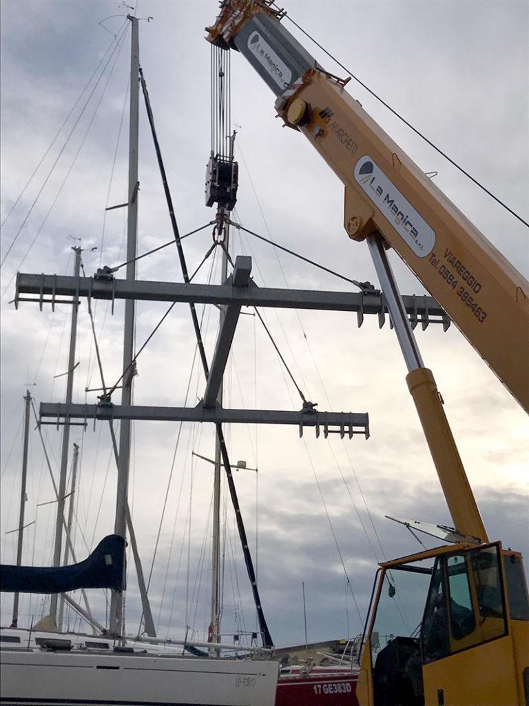 bilancini sollevamento barche