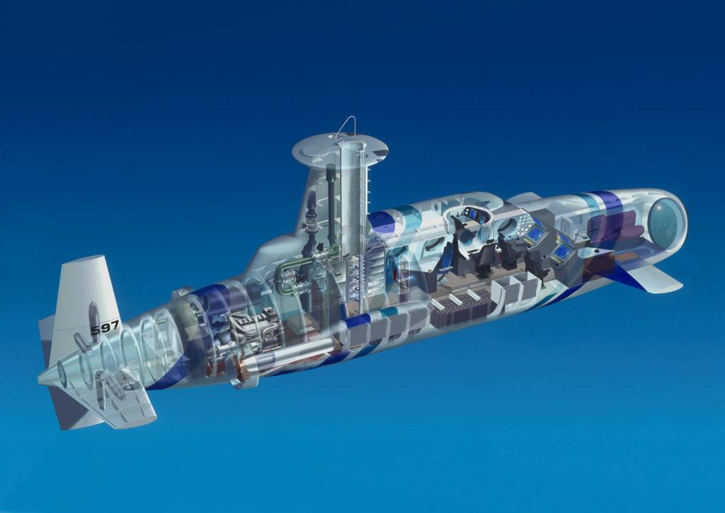 Neyk Ocean Submarine