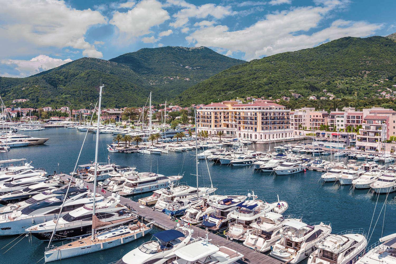 Porto Montenegro Superyachts di lusso