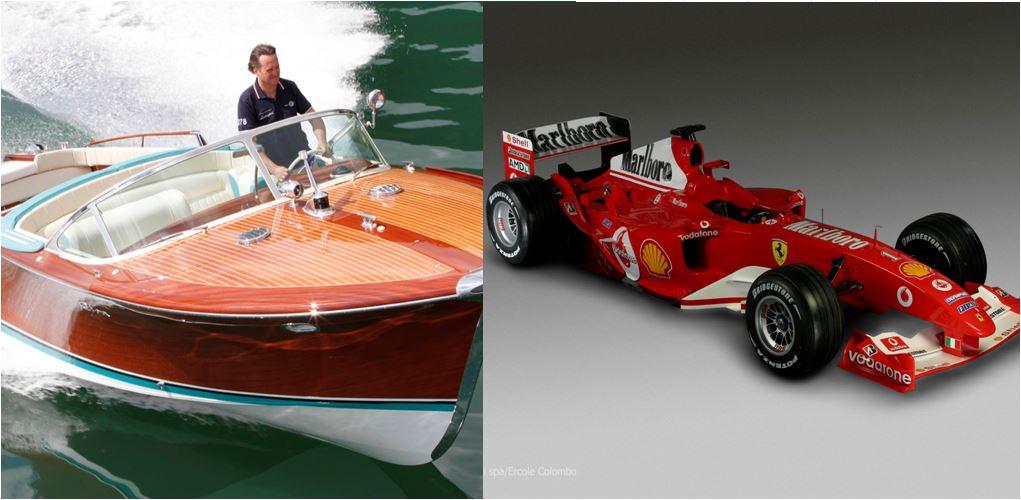 Trofeo Carlo Riva yacht Ferrari d'epoca F2002
