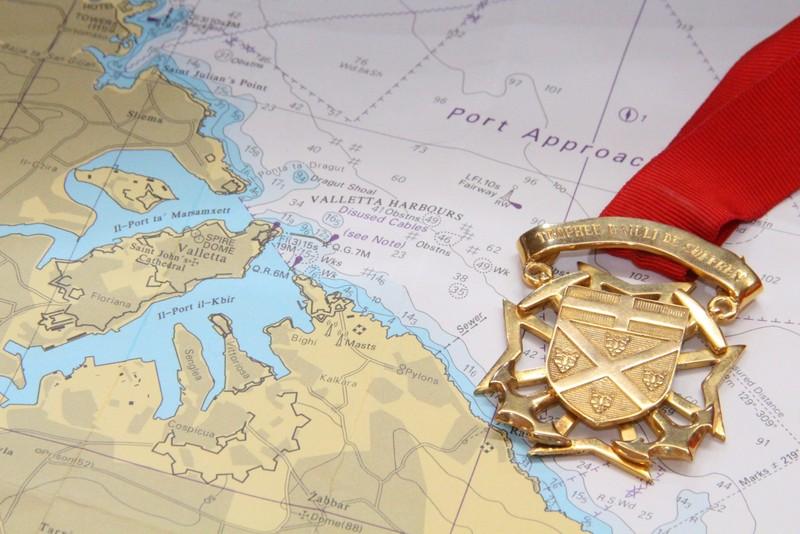 Trofeo Bailli de Suffren Simbolo Malta Vele d'epoca
