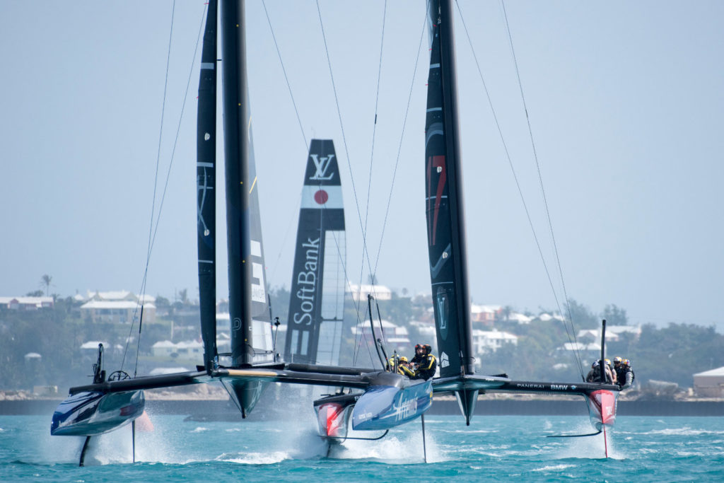 America's Cup Artemis Soft Bank Team Japan