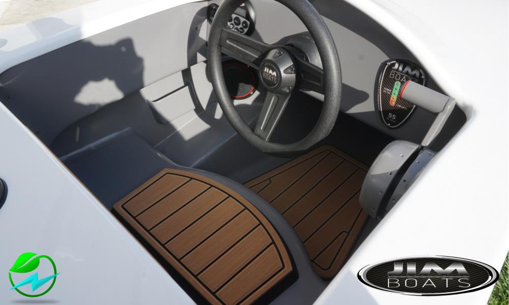 Jim Boats 6.5 mini barca interno