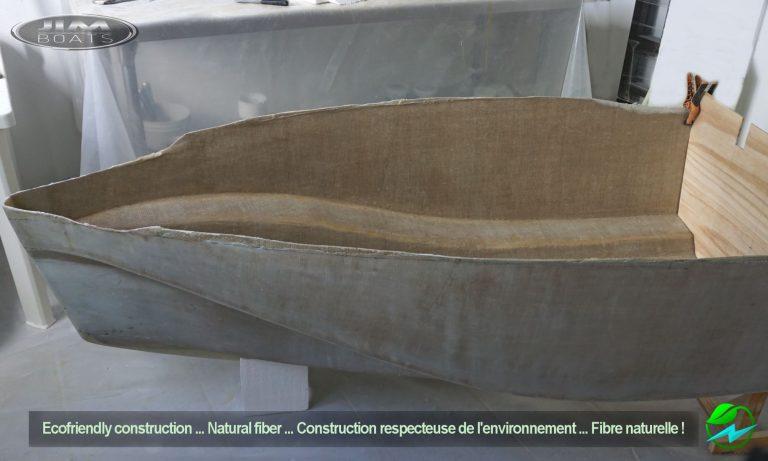 Jim Boats 6.5 mini barca fibre di iuta