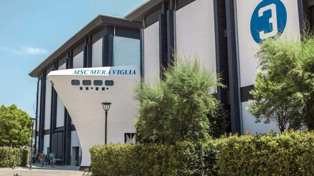 MSC Meraviglia Parco divertimenti Cinecittà World