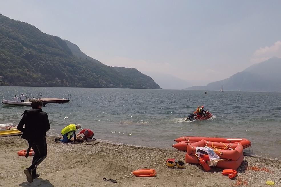 Sicuro in Mare Soccorso Bellano Lago diComo