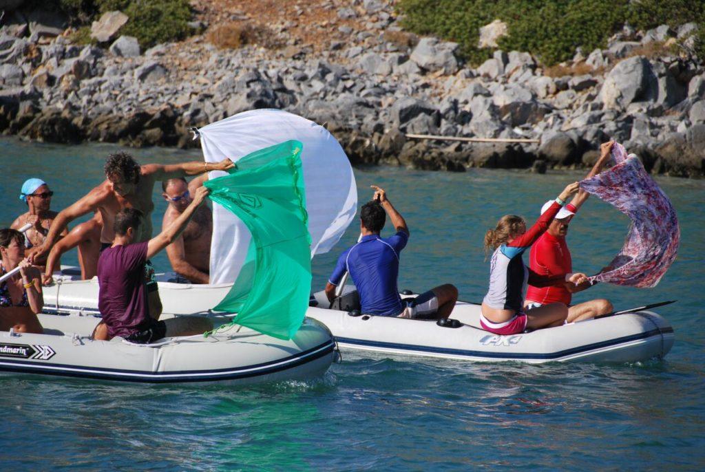 Horca Myseria flottiglione grecia Vacanza in barca a vela