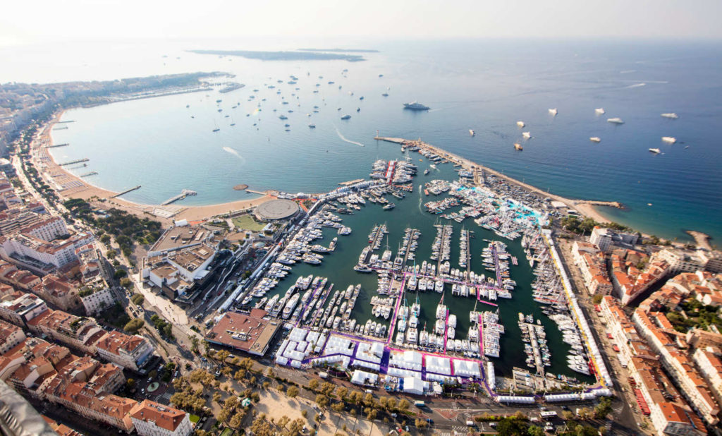 Cannes Yachting Festival Vieux Port