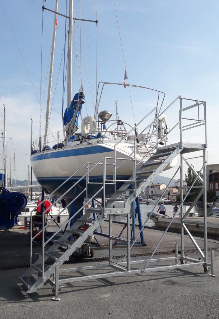 NavalTecnoSud Grimaud Scala cantiere navale barca