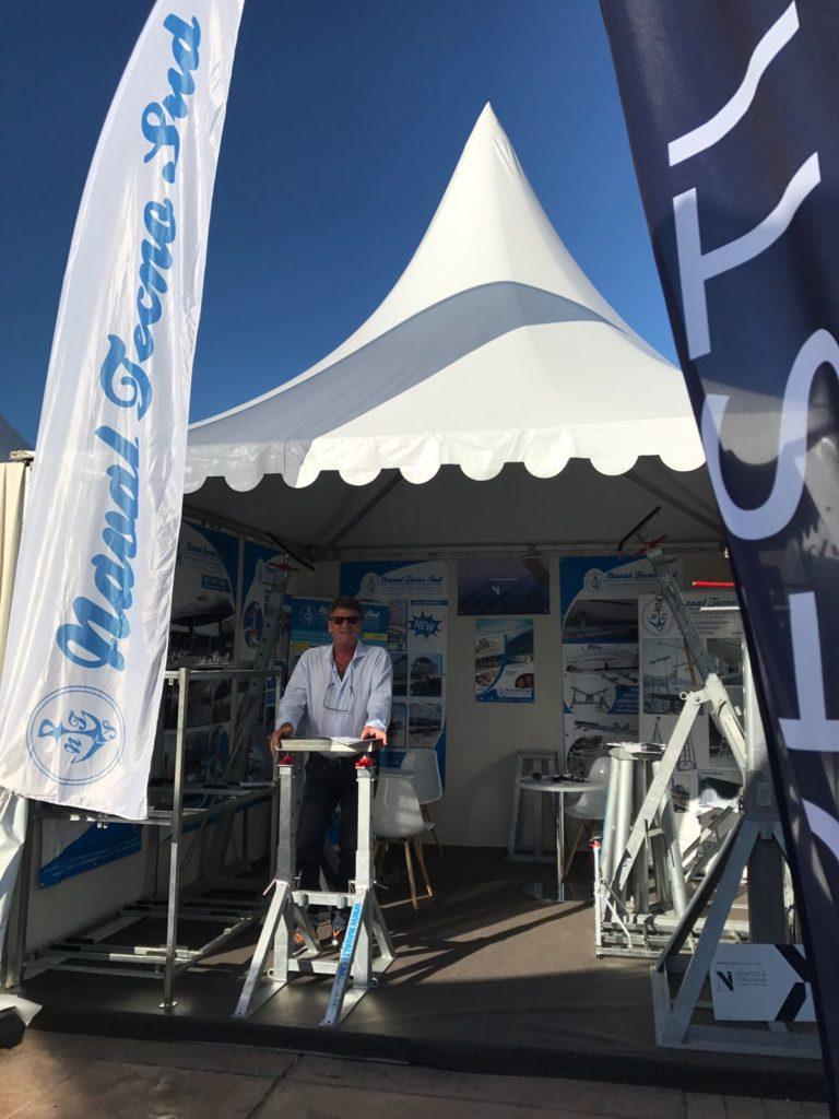 NavalTecnoSud Boat Stand Salone Cannes