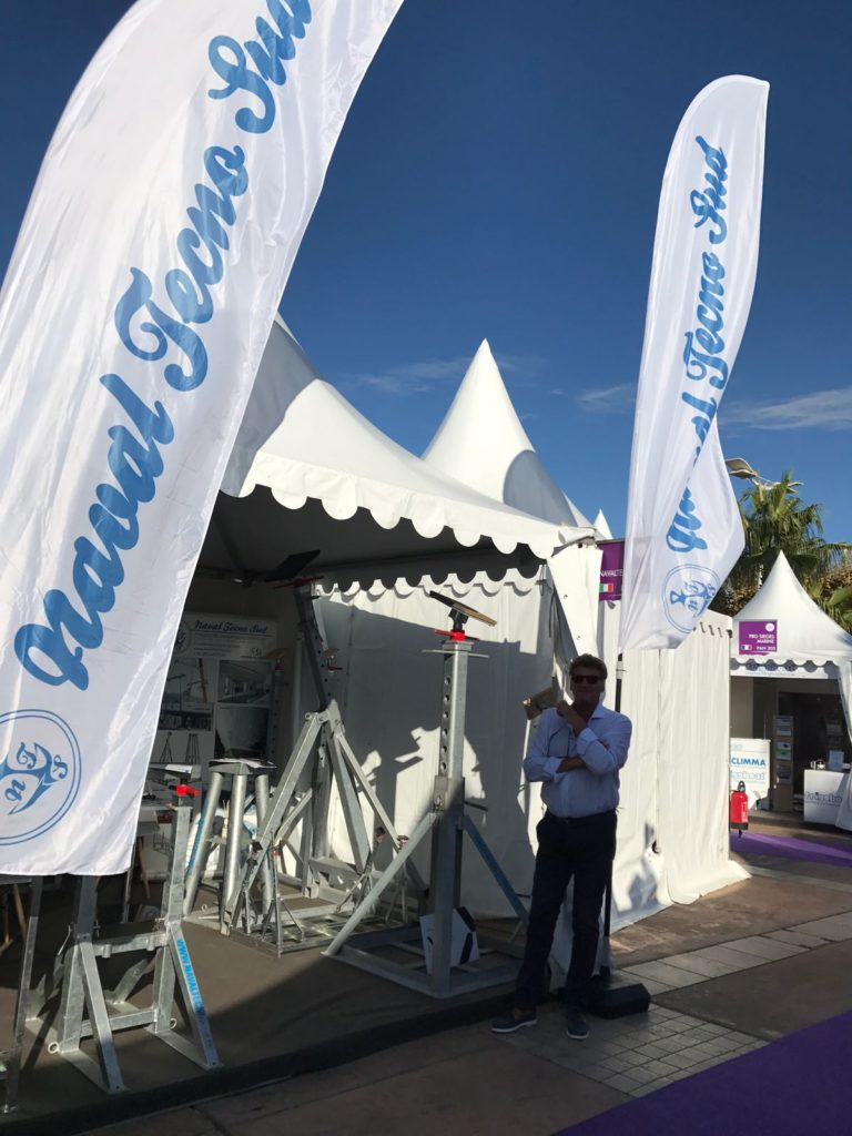 NavalTecnoSud Boat Stand Cannes Yachting Festival