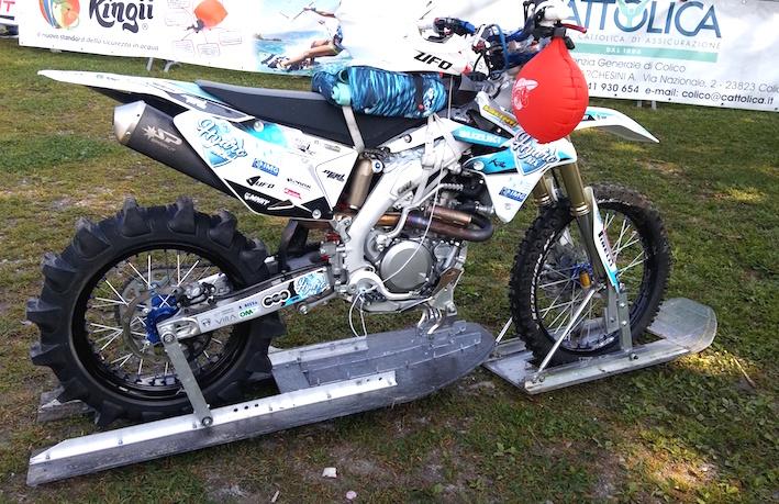 Hydro MX Luca Colombo Record Moto Lago Suzuki