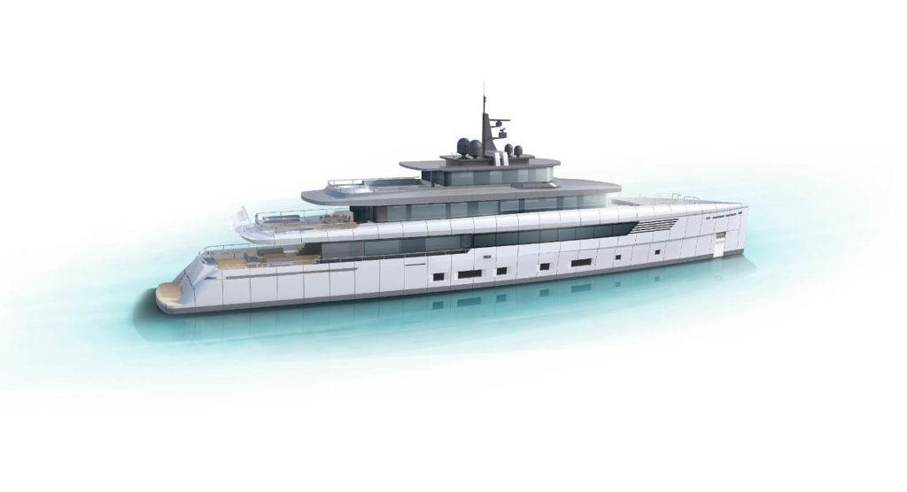 Perini Navi 56 metri yacht