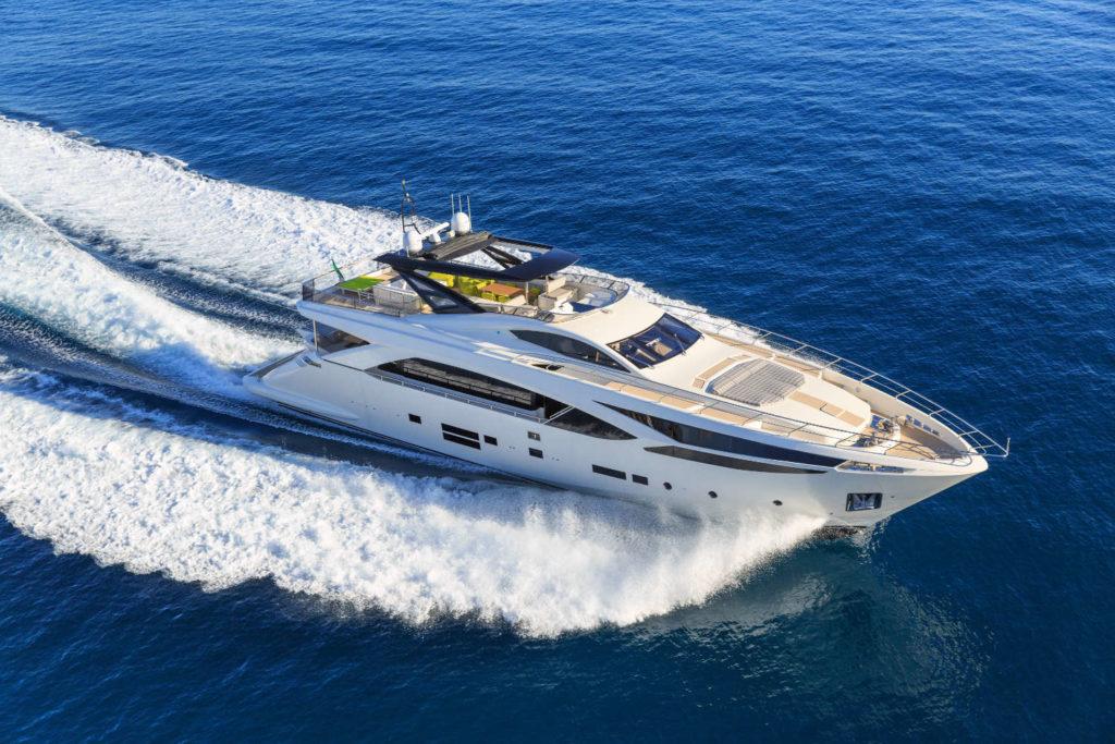 Amer 100 superyacht