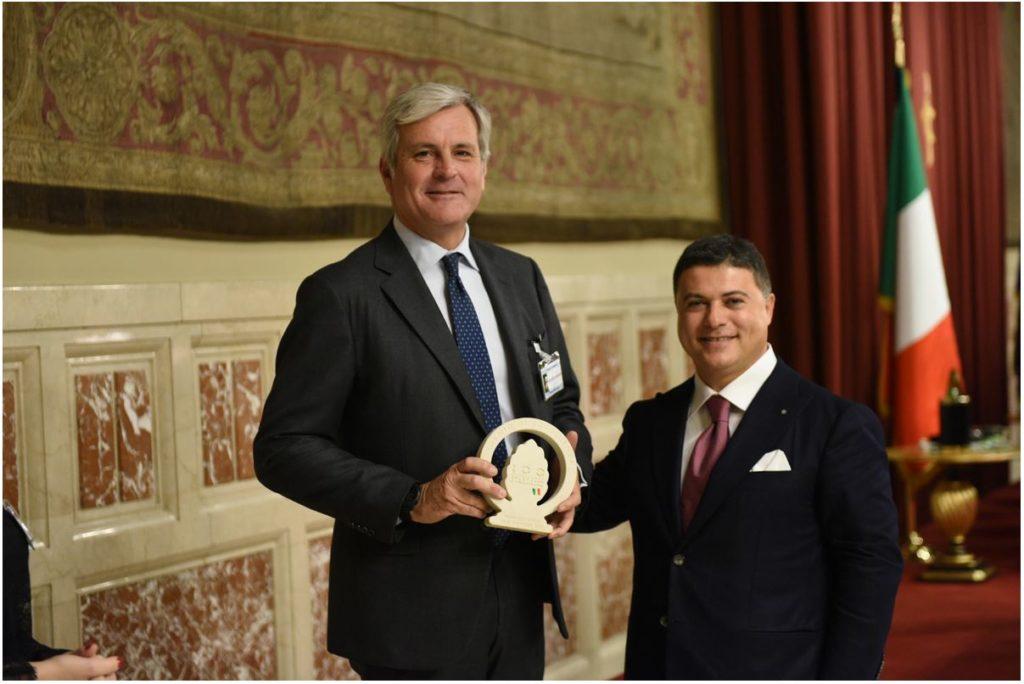 Baglietto premio 100 eccellenze italiane