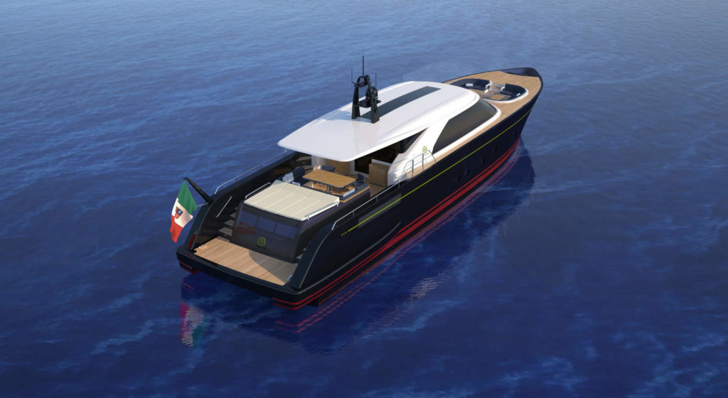 Perini Eco Tender 25m