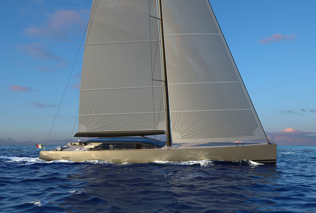 Perini S/Y 42 m Evolution
