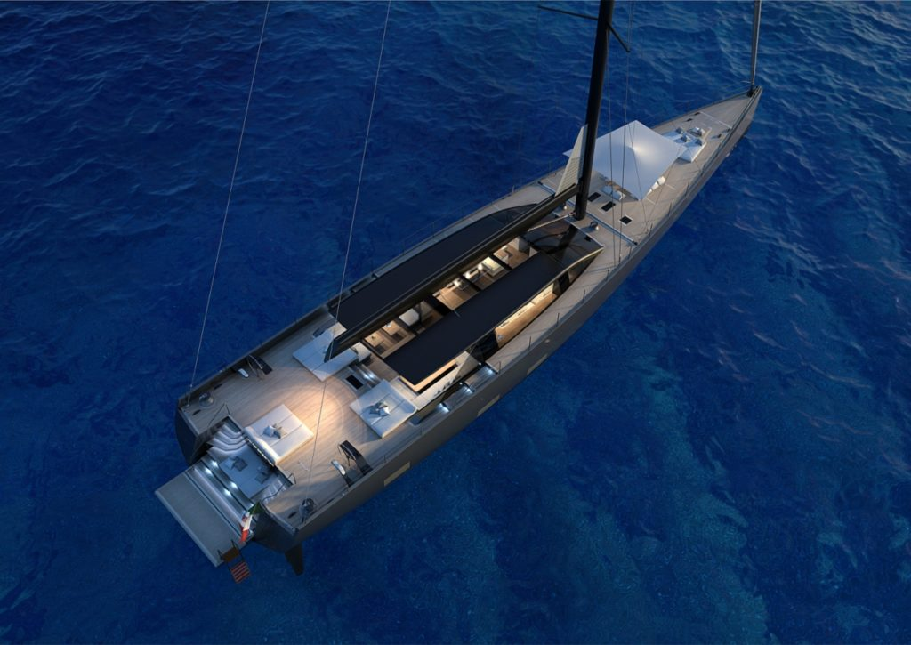 Perini Navi S/Y 42 m Evolution