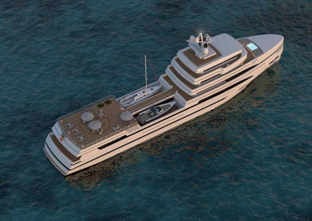 Rosetti Yachts 85m